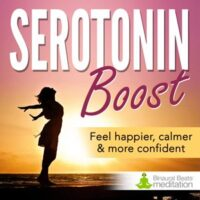 increase serotonin meditation