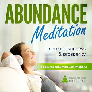 Abundance Meditation Music - With Positive Affirmations